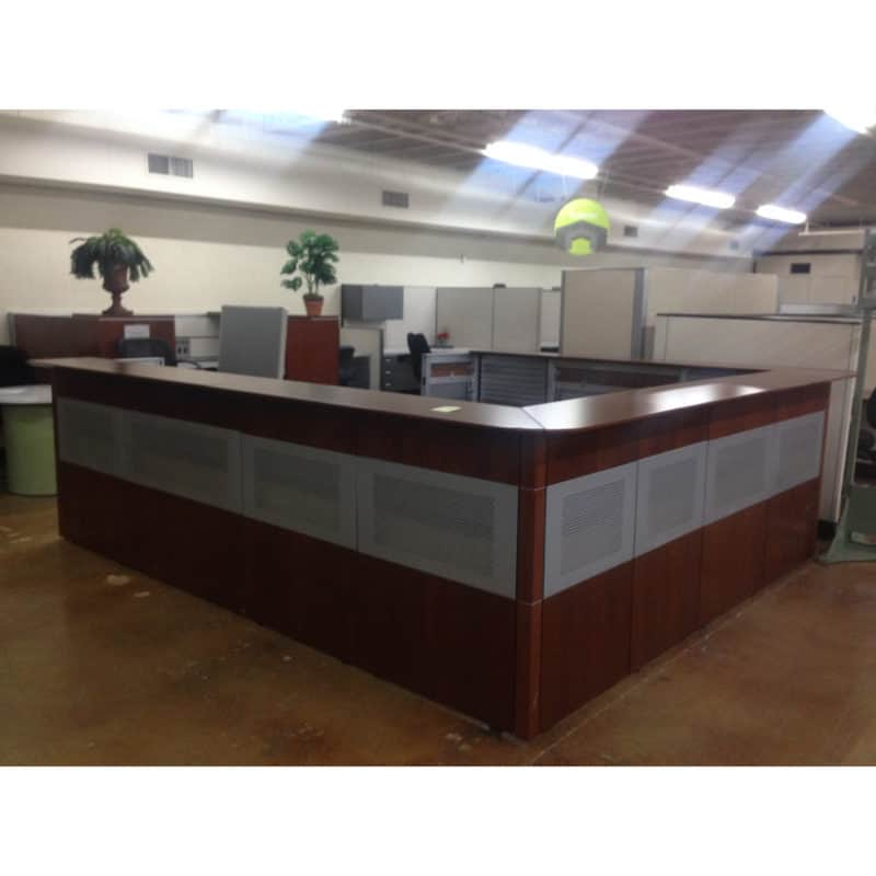 Used Reception Desk Desks Warehouse Of Fixtures